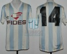 Racing Club - 1986/87 - Home - Adidas - Fides - 27ma vs Boca Jrs. - H. Lamadrid