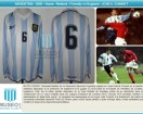 Argentina - 2000 - Home - Reebok - Friendly vs England - J. Chamot