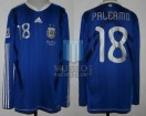 Argentina - 2010 - Away - Adidas - South Africa WC vs Greece - M. Palermo